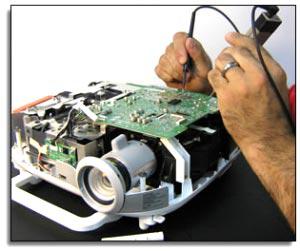 آموزش تعمیرات پروژکتور