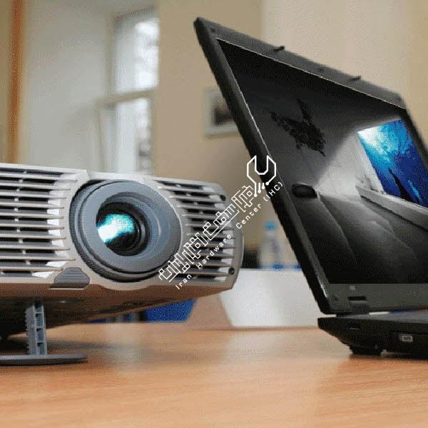 ظاهر نشدن تصویر لپ تاپ روی ویدئو پروژکتور
