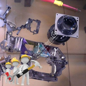 تعمیرات لنز ویدئو پروژکتور