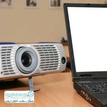 اتصال لپ تاپ به ویدئو پروژکتور